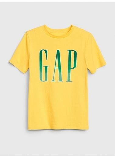 Gap Gap Logo Kısa Kollu T-shirt Sarı